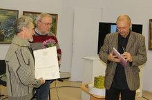 Открытие выставки Баранова В.Д.