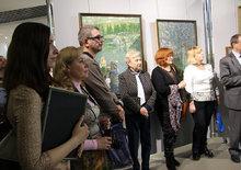 Открытие выставки В.Д. Баранова в КВЦ им. Тенишевых. г. Смоленск