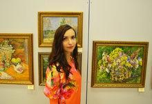 Открытие выставки Скворцовой Л.А.